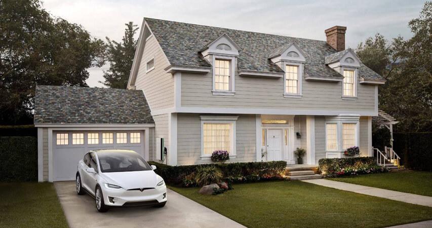 дизайн и ремонт загородного дома на солнечных батареях