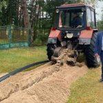 На Жовківщині будують водопровід довжиною майже 7 кілометрів