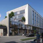 Неподалік центру Львова збудують 5-поверховий готель