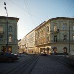У Львові визначили, яким буде новий готель на вулиці Дорошенка. Візуалізація